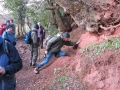 Fieldtrip Triassic sandstones, GeoFest 2011
