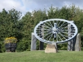 Miners memorial, Severn Valley Country Park, Highley, Shropshire