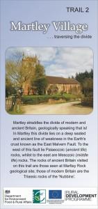 Martley Village Traversing the Divide – Trail 2