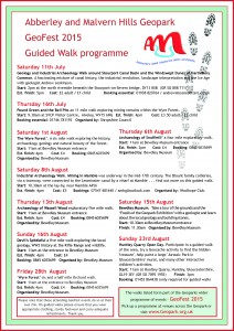 GeoFest 2015 guided walks