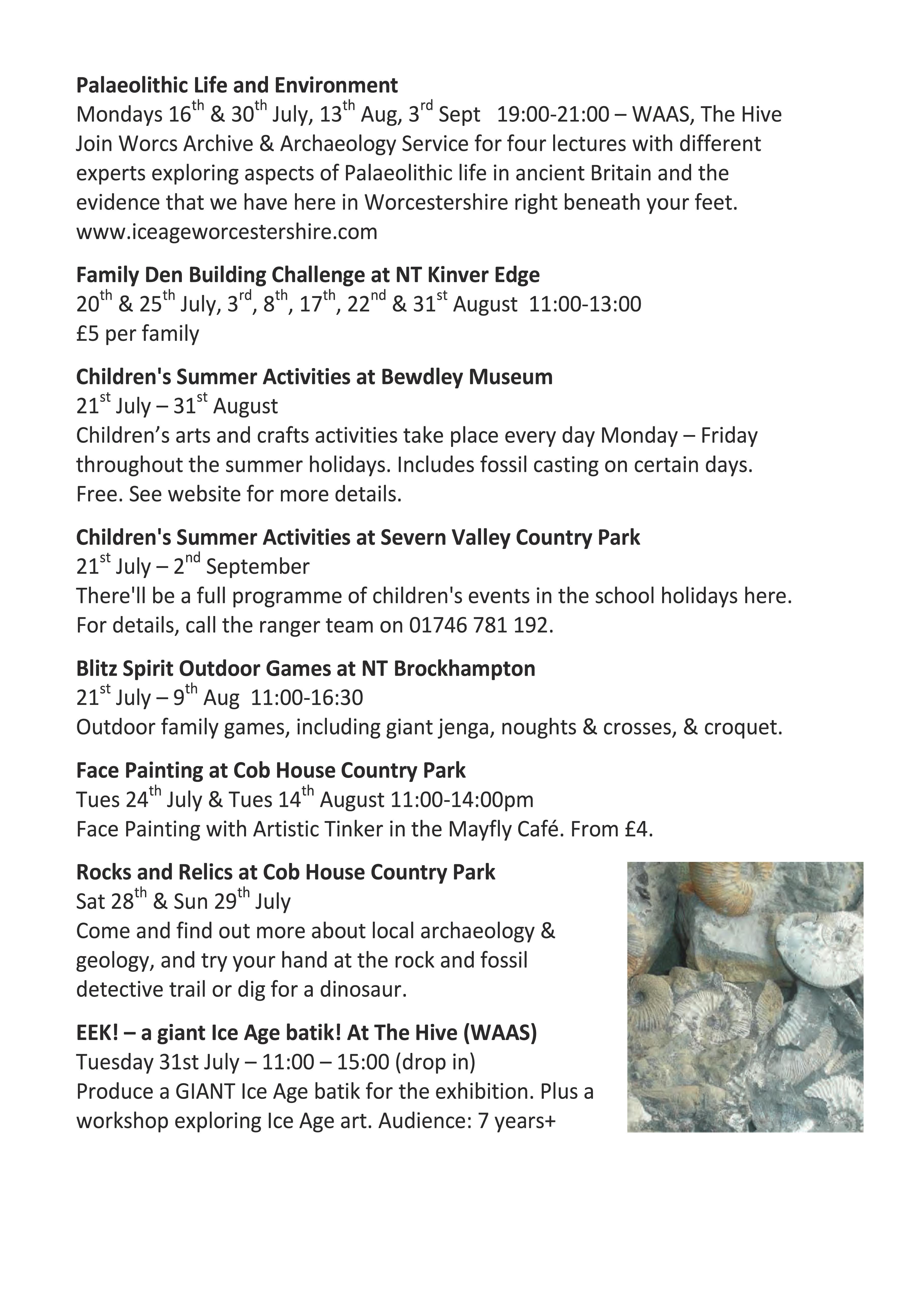 GeoFest   Abberley and Malvern Hills Geopark